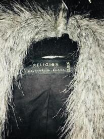 Religion Clothing Faux Fur Coat