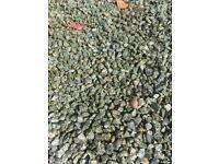 Green granite / basalt stone