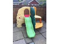 Little tikes, jungle climbing frame and slide