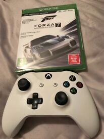 Forza 7 Xbox one and used pad
