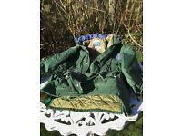 Ladies padded waterproof jacket by Harry Hall