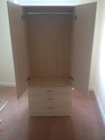 Wardrobe good as new never used