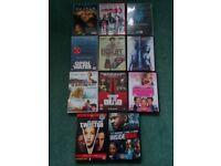 Job lot of 11 DVD's, Graded 15.