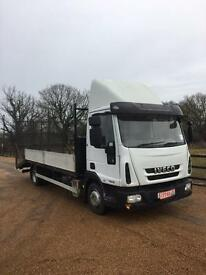 Iveco Eurocargo beavertail with drop sides 58 Reg Euro 5