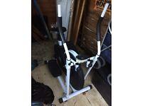 Excercise bike cross trainer