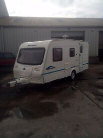 BAILEY RANGER 470 /4 BERTH CARAVAN YEAR 2004,05 READY FOR HOLIDAYS, SEPARATE SHOWER,NICE CONDITION