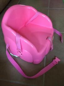 Safety 1st Pink Booster seat