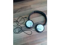 Philips over ear headphones