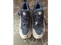 Men's Blue Nike Huarache size 10