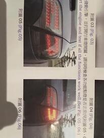 Audi A4 S4 Rs4 Led rear lights B7 model 2004-2008 New in Box