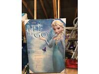 Disney frozen wall canvas picture