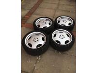Mercedes Monoblock Alloys &Tyres