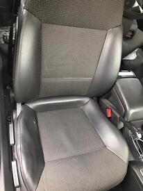 Vauxhall vectra c half leather seats