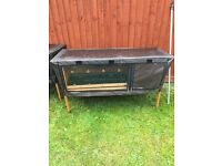 Brand new rabbit hutch and all weather cover