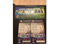 ICC Champions Trophy 2017 Semifinal Tickets- Cardiff