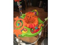 Roaring Rainforest Jumperoo in great condition