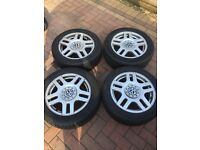 Mk4 golf GTI wheels and tyres 2 of are flat text 07950477915 £50