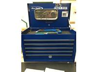Blue point / snap-on tool box and tools