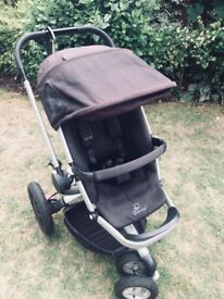 Quinny Buzz Travel System (pushchair, carry cot