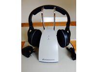 SENNHEISER RS120 II wireless RF headphones - immaculate