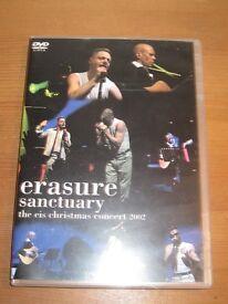 erasure rare sanctuary christmas concert dvd