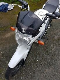 Ive got a yamaha ybr 125cc for sale which i bought new last year from Damerells