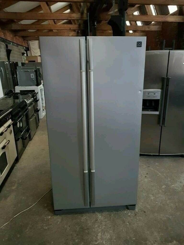 Silver Daewoo A+++ Cl Frost Free Double Door American Style ...