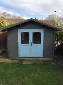 Log cabin 3.2 X 2.6