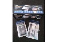 A4 laminator +scientific calculator & stationery set £22