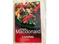Claire Macdonald. lunches Book