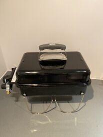 Portable Gas Barbecue - Weber Go-Anywhere 41 x 26 cm, Black