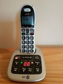 BT4500 Digital cordless phone with answering machine.
