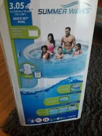 Quick set pool