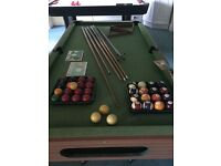 Snooker Table 6ft by 3 ft with accessories perfect for kids