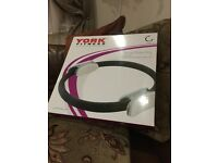 "PILATES FITNESS RING 14"" DIAMETER - NEW IN PACKAGING - BARGIN-great for inner core"