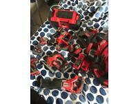 Milwaukee 18v tools