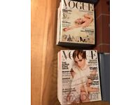 60+ Vogue Magazines in Good Condition - £30