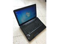 Laptop Toshiba, Windows 7 & MS Office, Free Delivery Northampton
