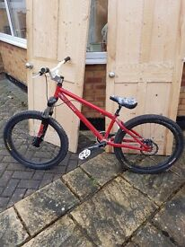 "Dirt Jump Bike 24"""