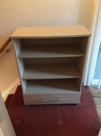 Shelving Unit with Drawer