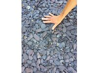 Attractive decorative slate chippings