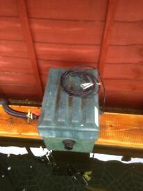 Green genie filter box with uv