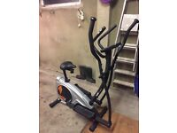 York aspire 2 in 1 cross trainer and exercise bike with advanced heart rate watch