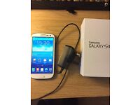 Samsung s3 phone mint condition locked to Tesco/02 network