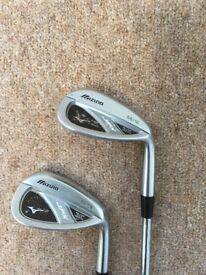 Mizuno JPX 52-08 & 56-12 Degree RH Wedges - Quad Cut Groove System - Excellent Condition