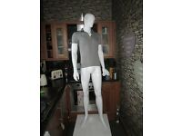 FULL SIZE MALE MANNEQUIN ON STAND