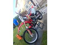 Honda cr125 cr 125 motocross mx yz kx rm sz