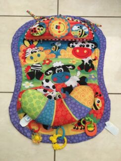 Playgro tummy time mat