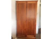 Wooden wardrobe - £60