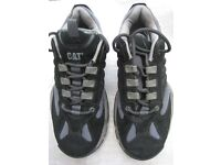 Pair of CAT Trainers and Pair of TenTex Crane Hiking Boots - £5.00 a pair
